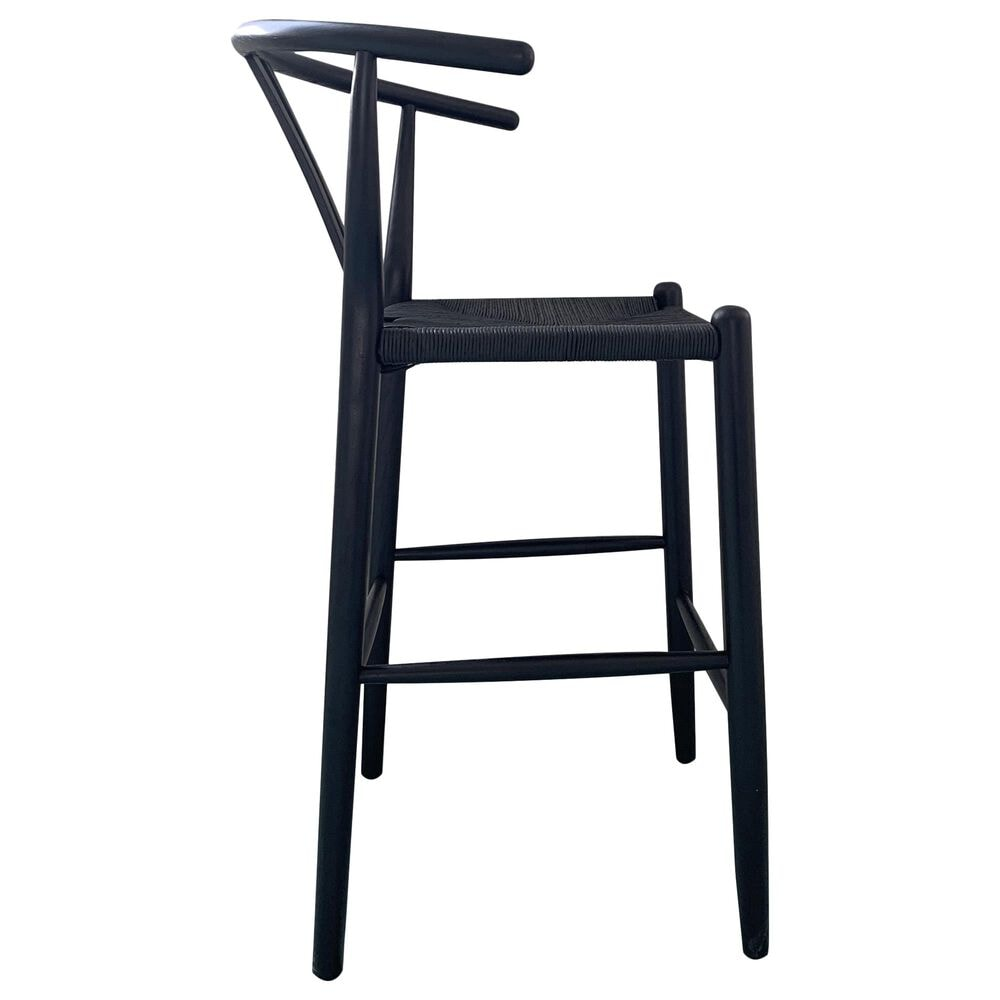 Moe's Home Collection Ventana Barstool in Black, , large