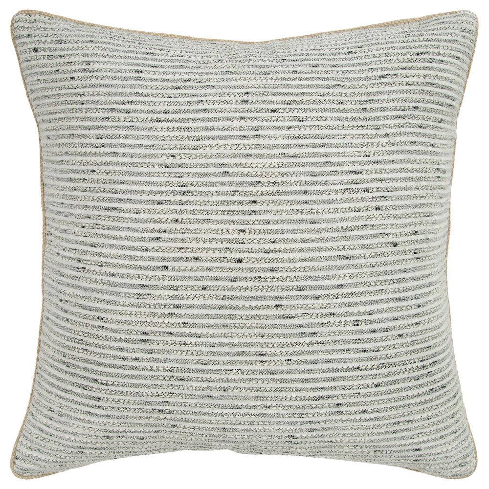 """Rizzy Home Donny Osmond 20"""" Pillow Cover in Light Gray, , large"""