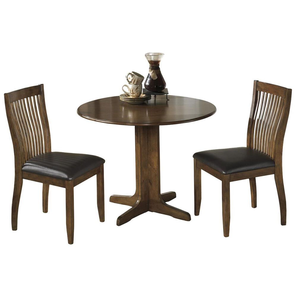 Signature Design by Ashley Danzing 3-Piece Dining Set in Dark Brown, , large