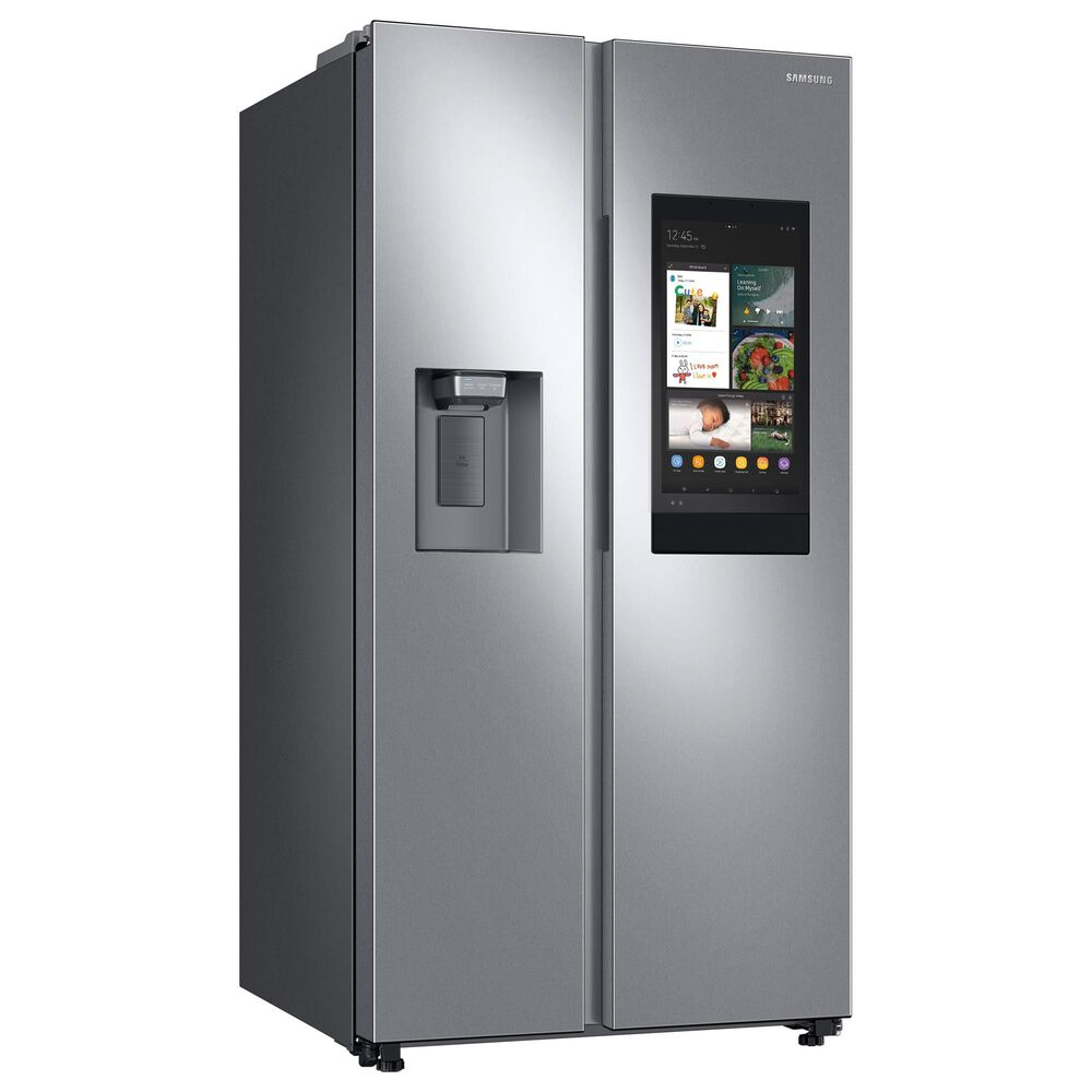 Samsung 2-Piece Kitchen Package with 26.7 Cu. Ft. Side-By-Side Refrigerator and StormWash 42 dBA in Stainless Steel, , large