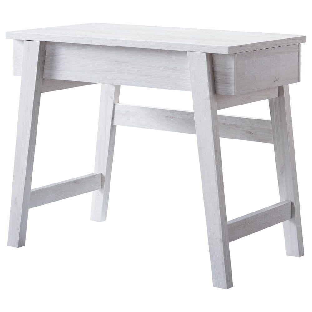 Furniture of America Wilkins Lift-Top Desk in White Oak, , large