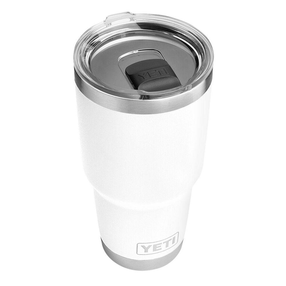 YETI Rambler 30 Oz Tumbler with MagSlider Lid in White, , large