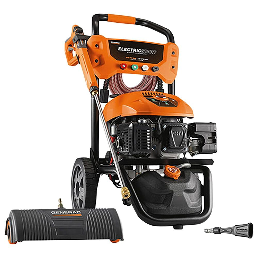 Generac 3100PSI Electric Start Pressure Washer in Orange, , large