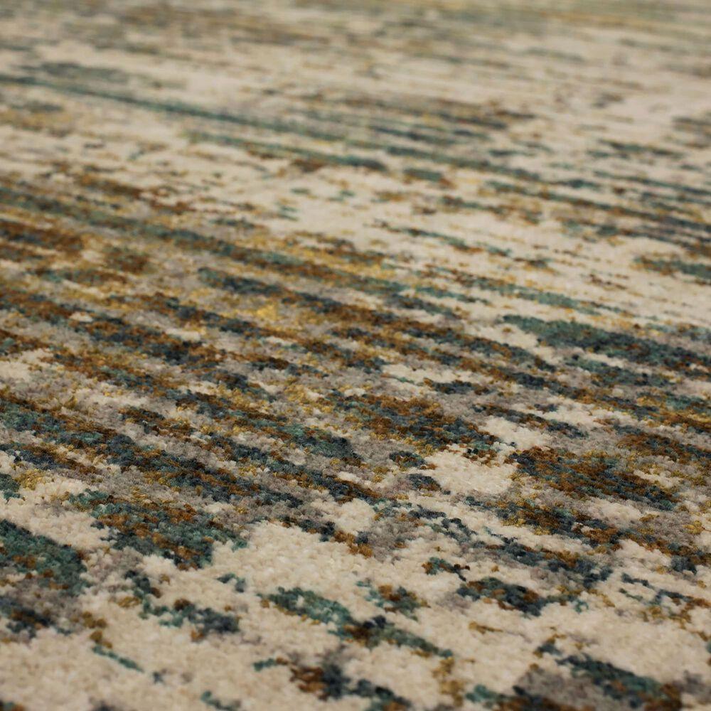 "Karastan Montreal Dawson Springs 91959-50123 9'6"" x 12'11"" Springs Aquamarine Area Rug, , large"