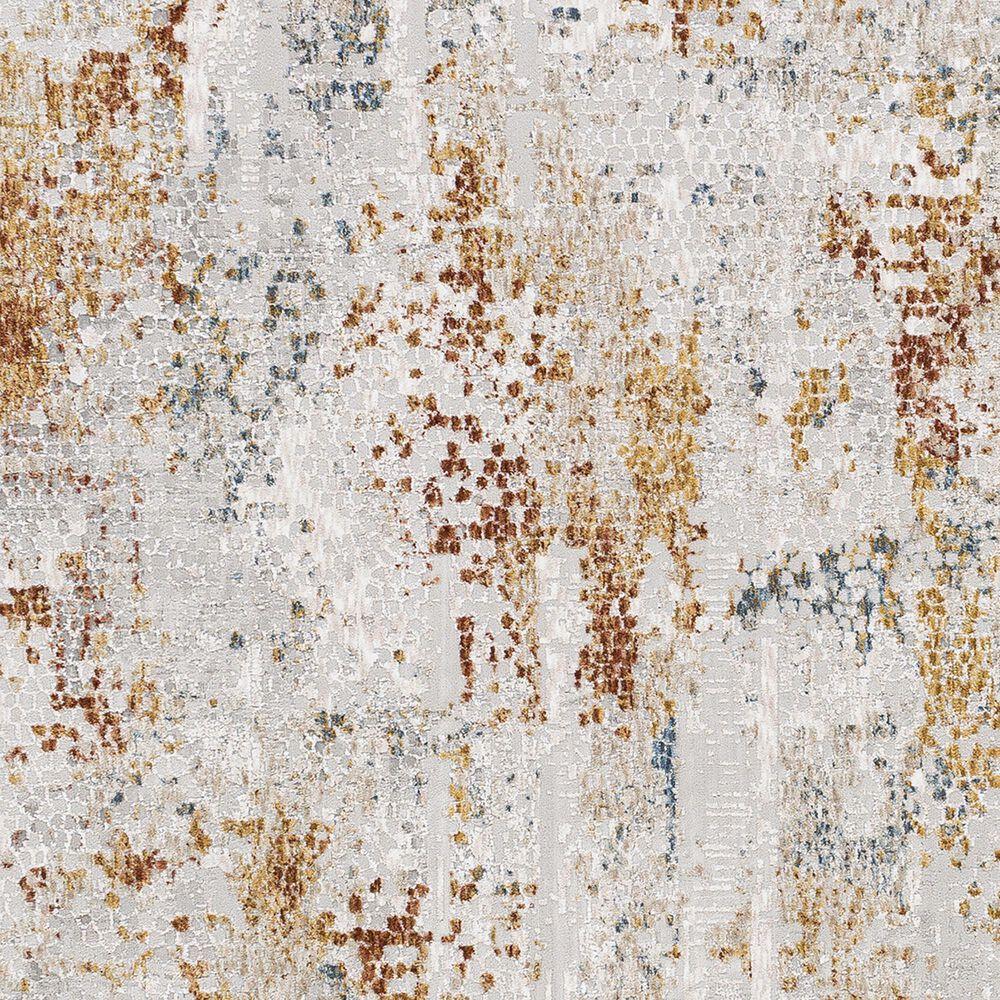 Surya Carmel 2' x 3' Camel, Clay, Mustard and Aqua Area Rug, , large