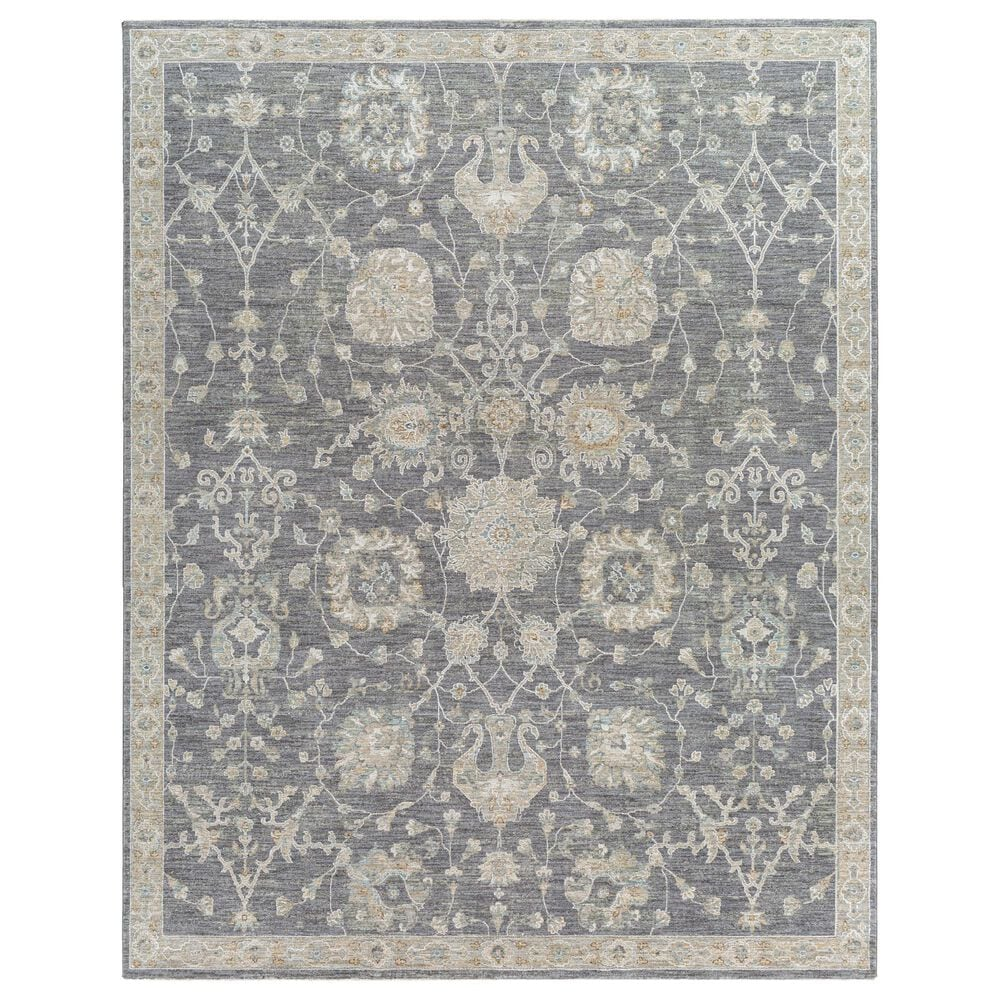 Surya Avant Garde 12' x 15' Gray, Beige and Denim Area Rug, , large