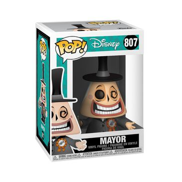 Funko Pop! Disney: The Nightmare Before Christmas Mayor with Megaphone, , large