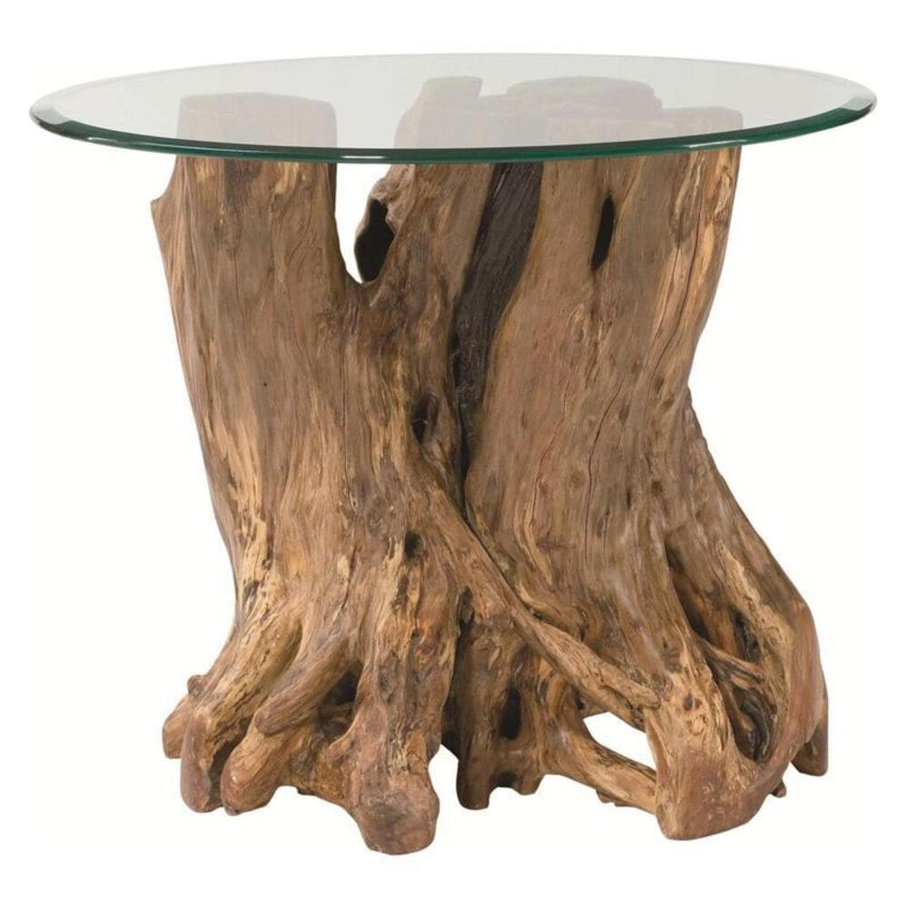 Hammary Hidden Treasures Root Ball End Table, , large