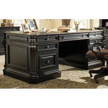 "Hooker Furniture Telluride 76"" Executive Desk in Black, , large"