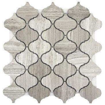 """Emser Metro Gray 12"""" x 12"""" Lantern Honed Natural Stone Mosaic Sheet, , large"""