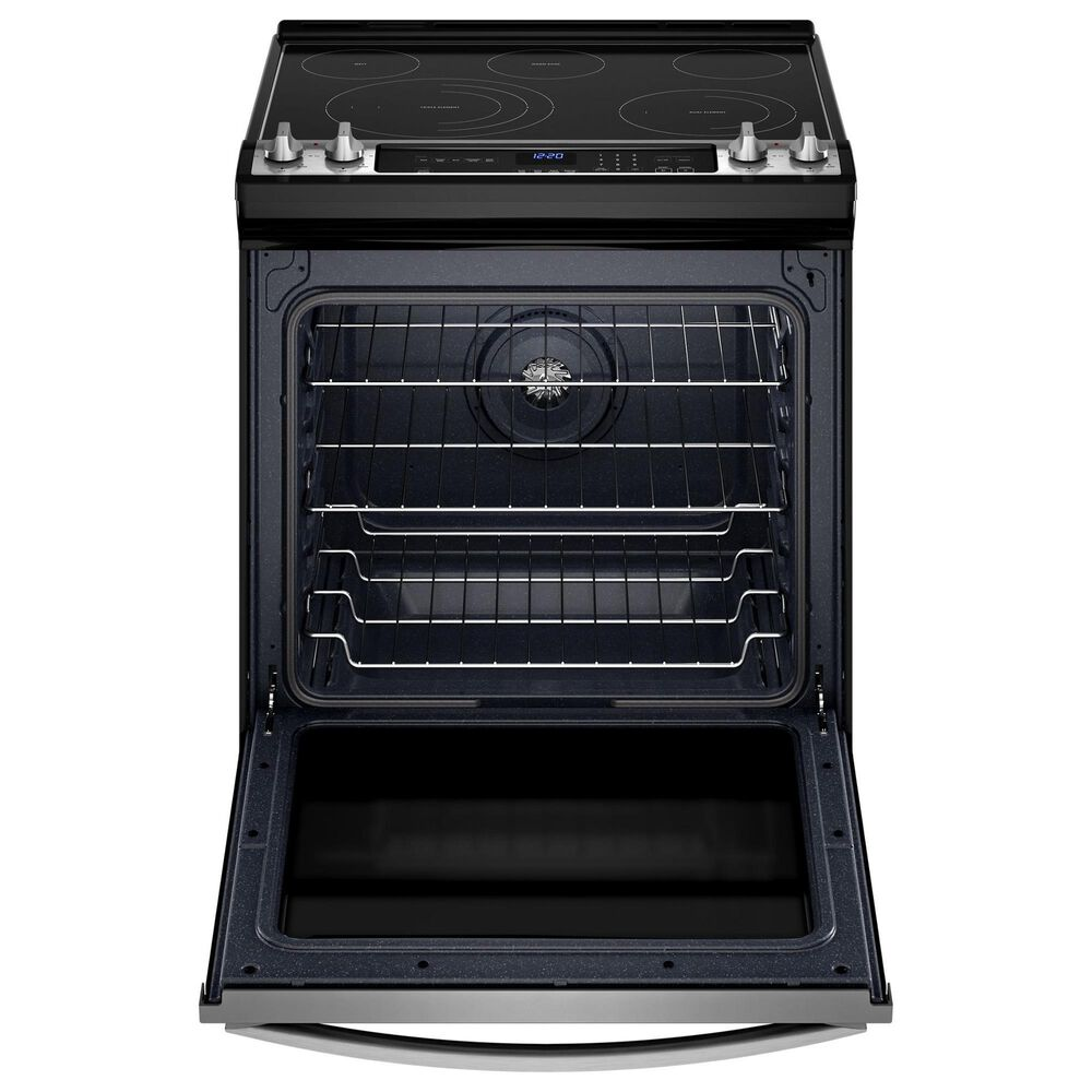 Whirlpool 2-Piece Kitchen Package with 6.4 Cu. Ft. Electric Oven and Microwave in Stainless Steel, , large