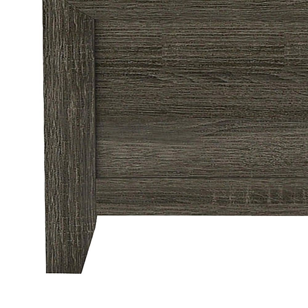 Furniture of America Lyons Full Panel Bed in Charcoal, , large