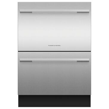 """Fisher and Paykel 24"""" Panel Ready Tall Double Drawer Dishwasher, , large"""