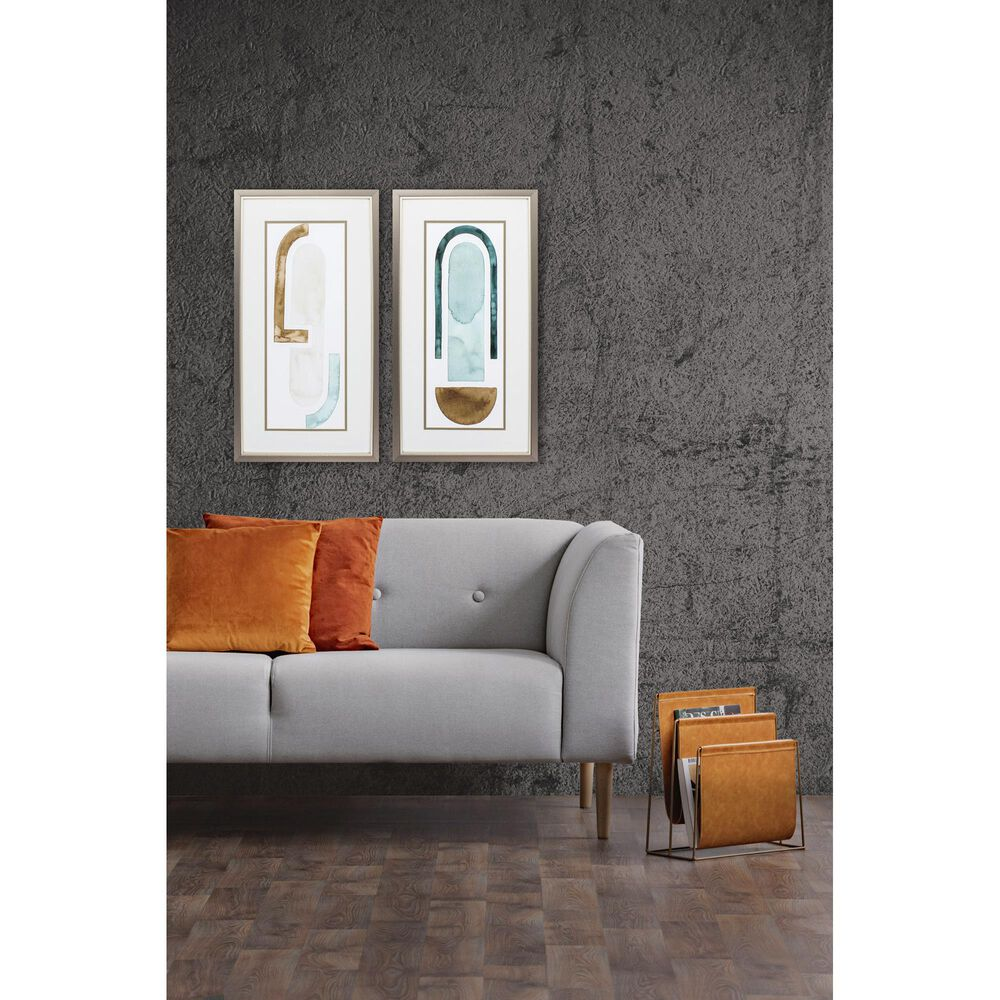 """Propac """"Strata Shift"""" Wall Art in Neutral (Set of 2), , large"""