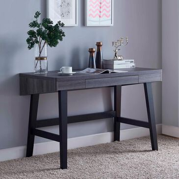 Global Movement Desk in Grey and Black Finish, , large