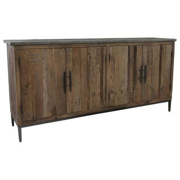 Classic Concepts Ellen 4-Door Sideboard in Brown, , large
