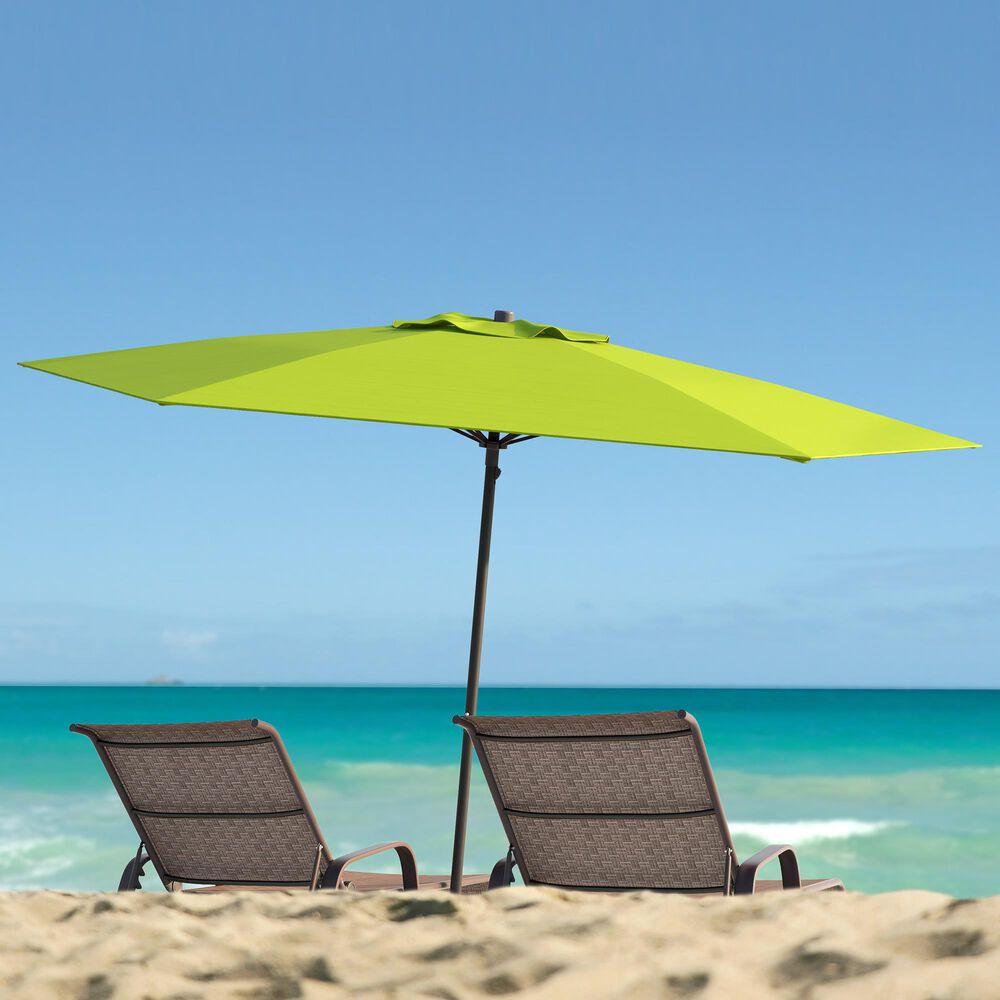 CorLiving 7.5' UV & Wind Resistant Umbrella in Lime Green, , large