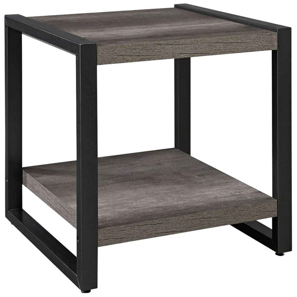 Belle Furnishings Tanners Creek 3-Piece Occasional Table in Greystone, , large
