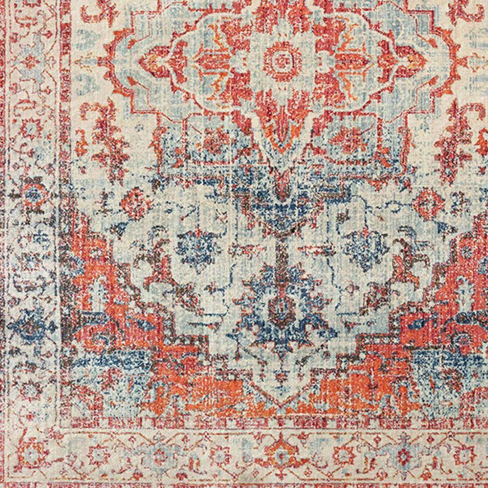 "Oriental Weavers Pandora 70W 2'3"" x 7'6"" Blue and Orange Runner, , large"