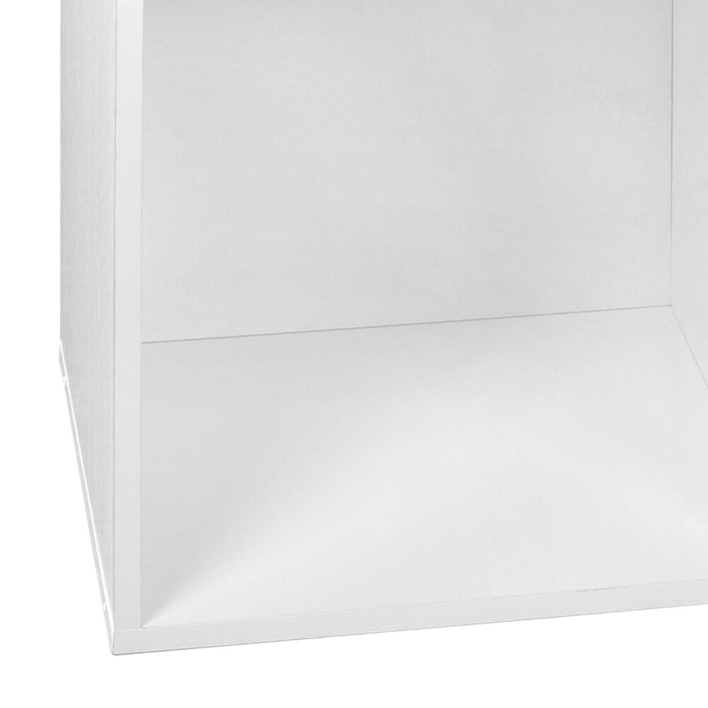 Regency Global Sourcing Niche Cubo 8-Piece Storage Set in White Wood Grain/White, , large