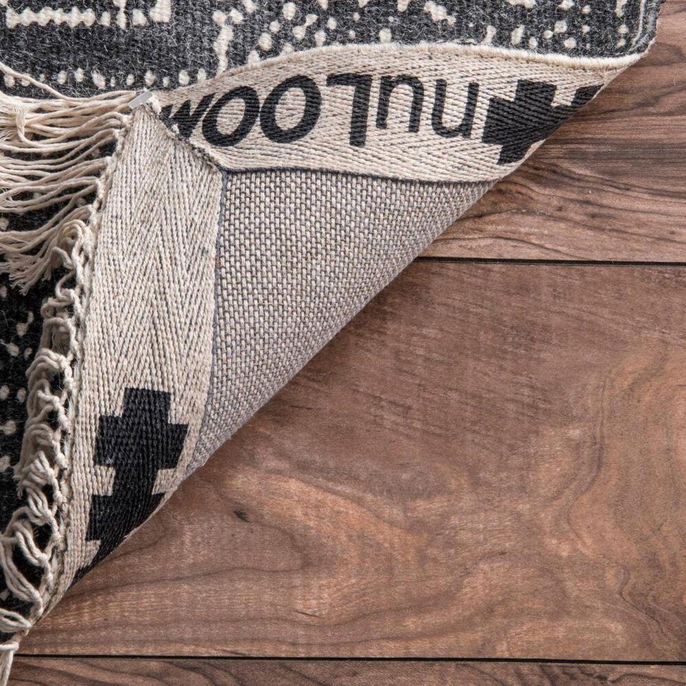 nuLOOM Preston MBPR01A 5' x 8' Dark Grey Area Rug, , large