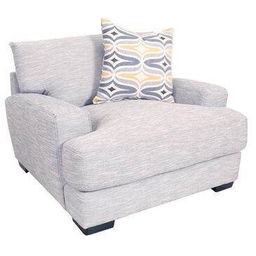 Moore Furniture Barton Chair and a Half in Fog, , large