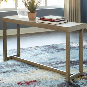 Signature Design by Ashley Challene Sofa Table in Light Gray, , large