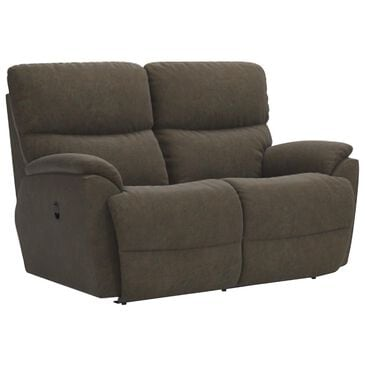 La-Z-Boy Trouper Manual Reclining Loveseat in Mink, , large