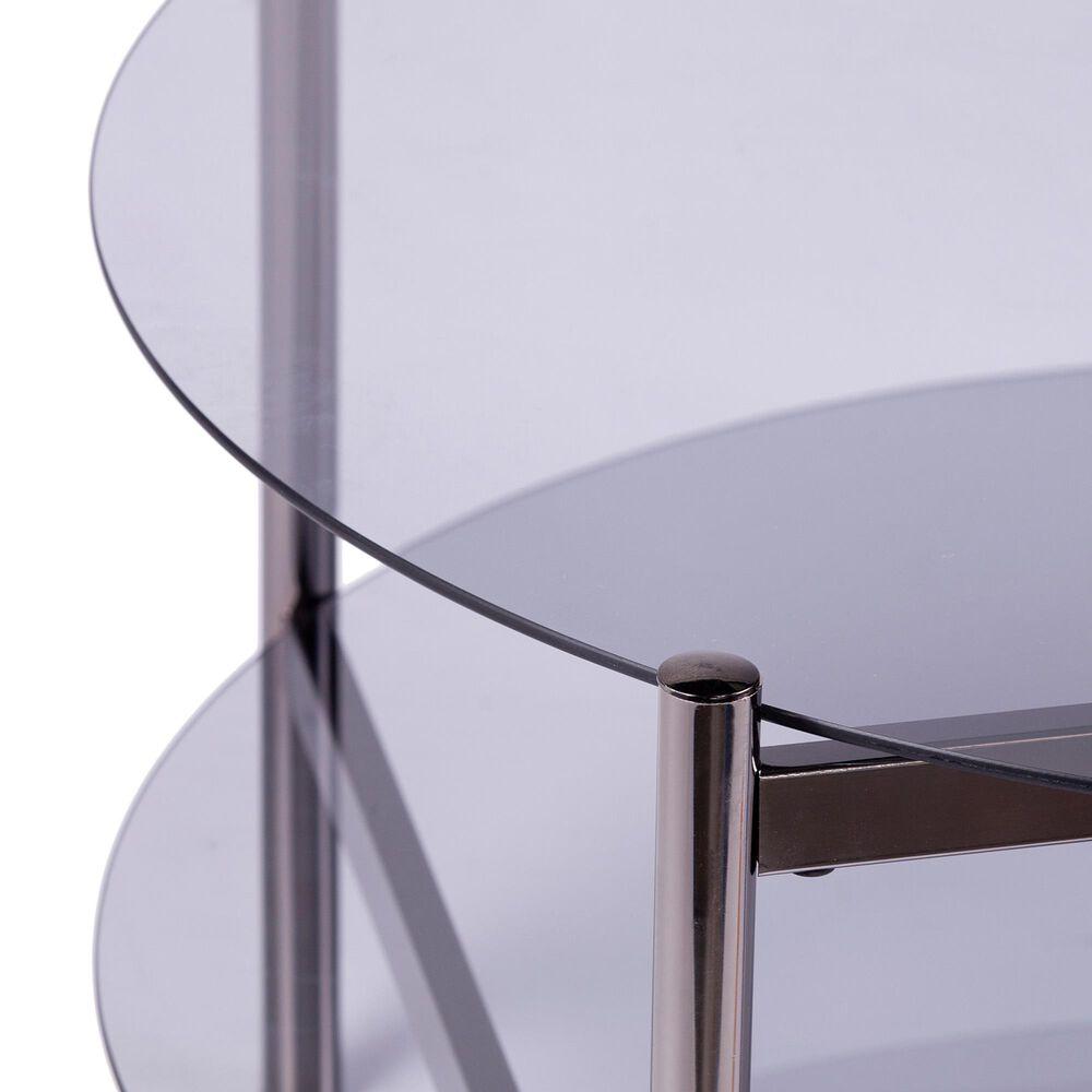 Southern Enterprises Glendwald Coffee Table in Black, , large