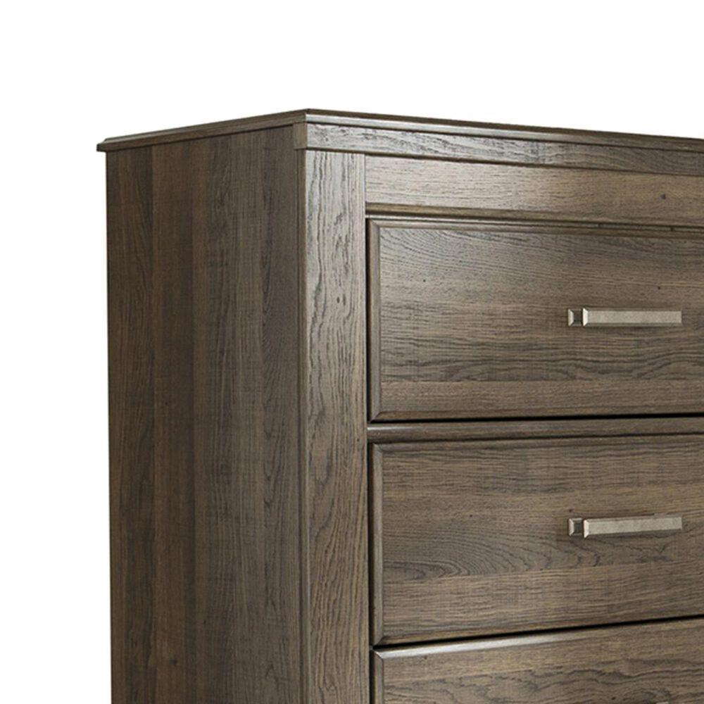 Signature Design by Ashley Juararo 4 Piece King Bedroom Set in Dark Brown, , large