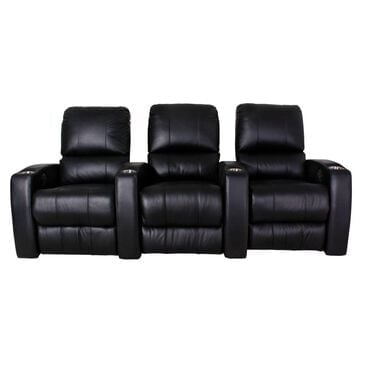 EQ3 3-Piece Leather Power Reclining Home Theater Set in Valencia Ink, , large