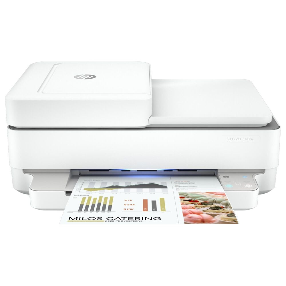 HP Envy 6455e All-In-One Printer in White, , large