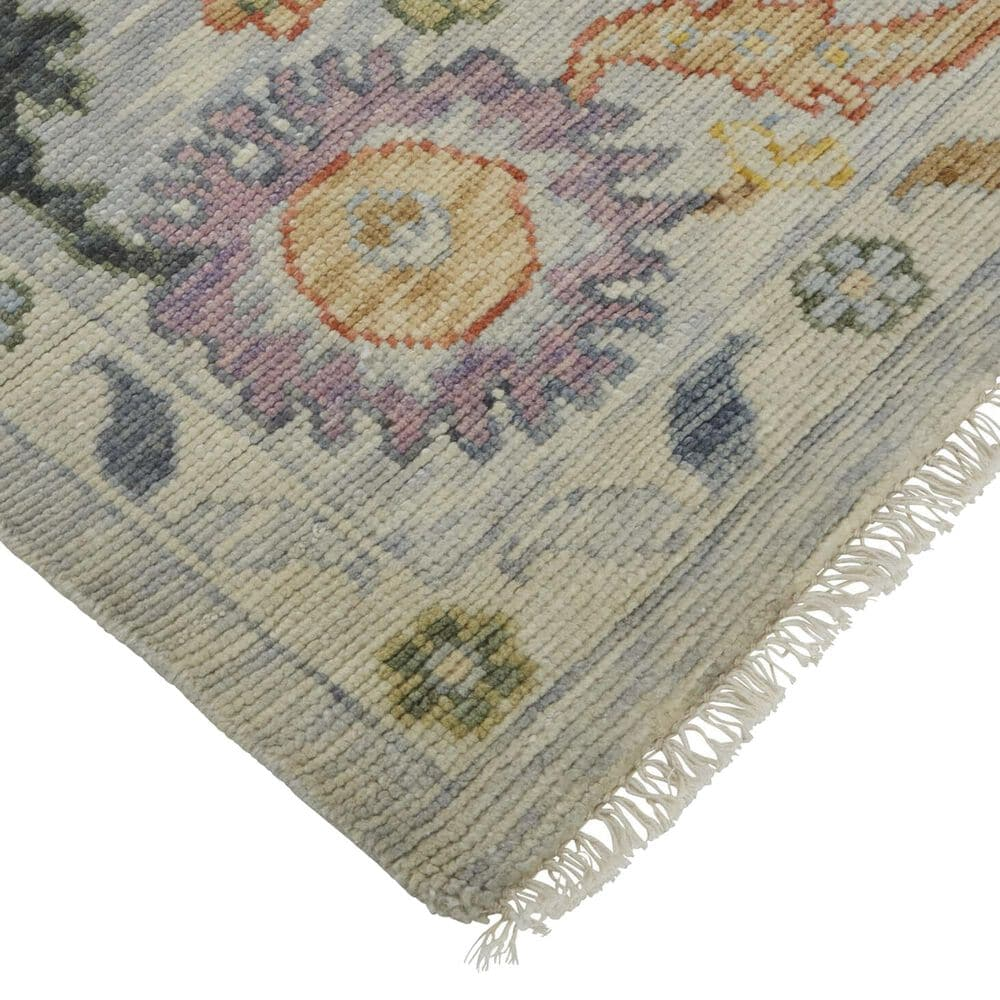 "Feizy Rugs Karina 2'6"" x 8' Gray and Yellow Runner, , large"