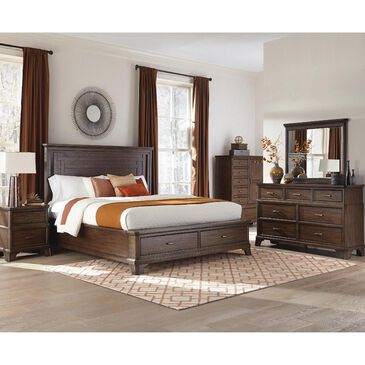 Hawthorne Furniture Telluride 6 Drawer Chest in Vintage Oak, , large