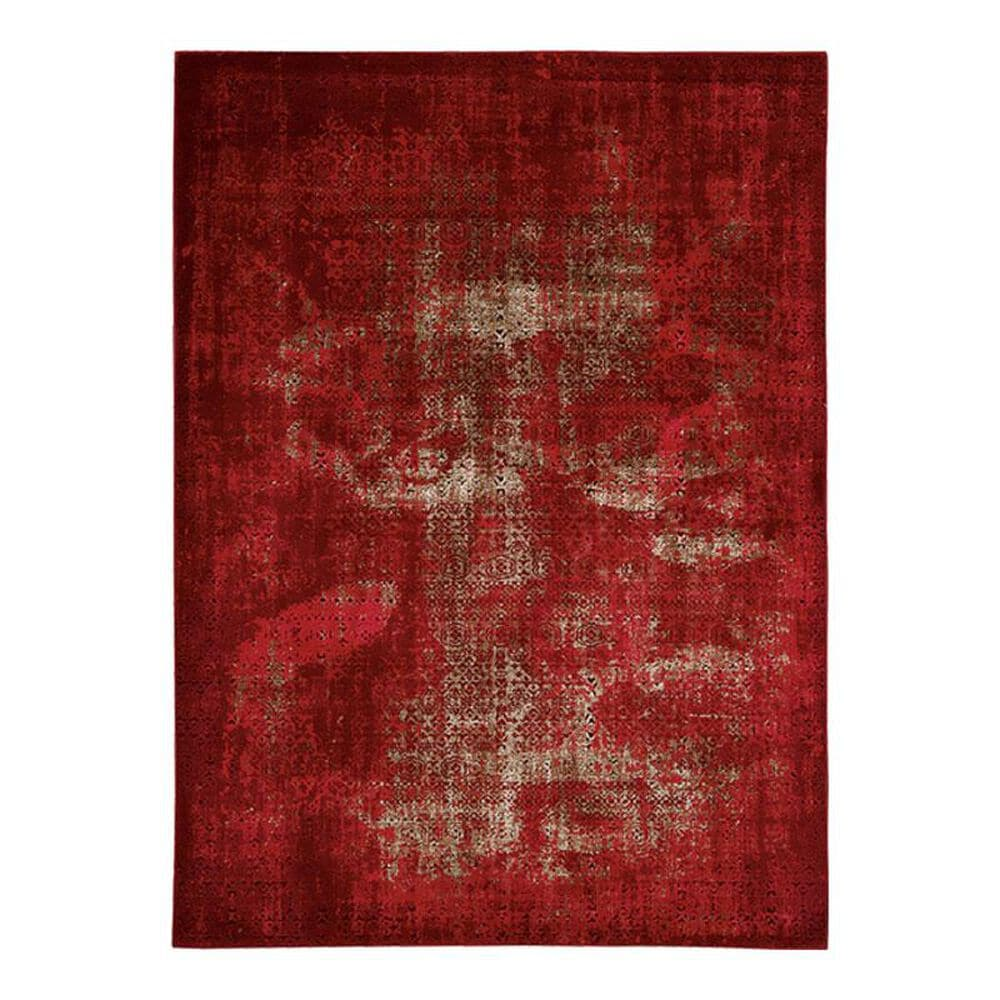 "Nourison Karma KRM01 9'3"" x 12'9"" Red Area Rug, , large"