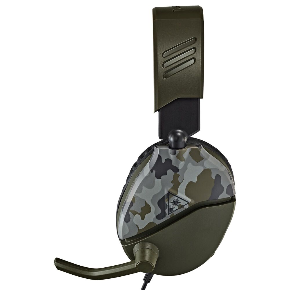 Turtle Beach Recon 70 Gaming Headsets in Green Camo, , large