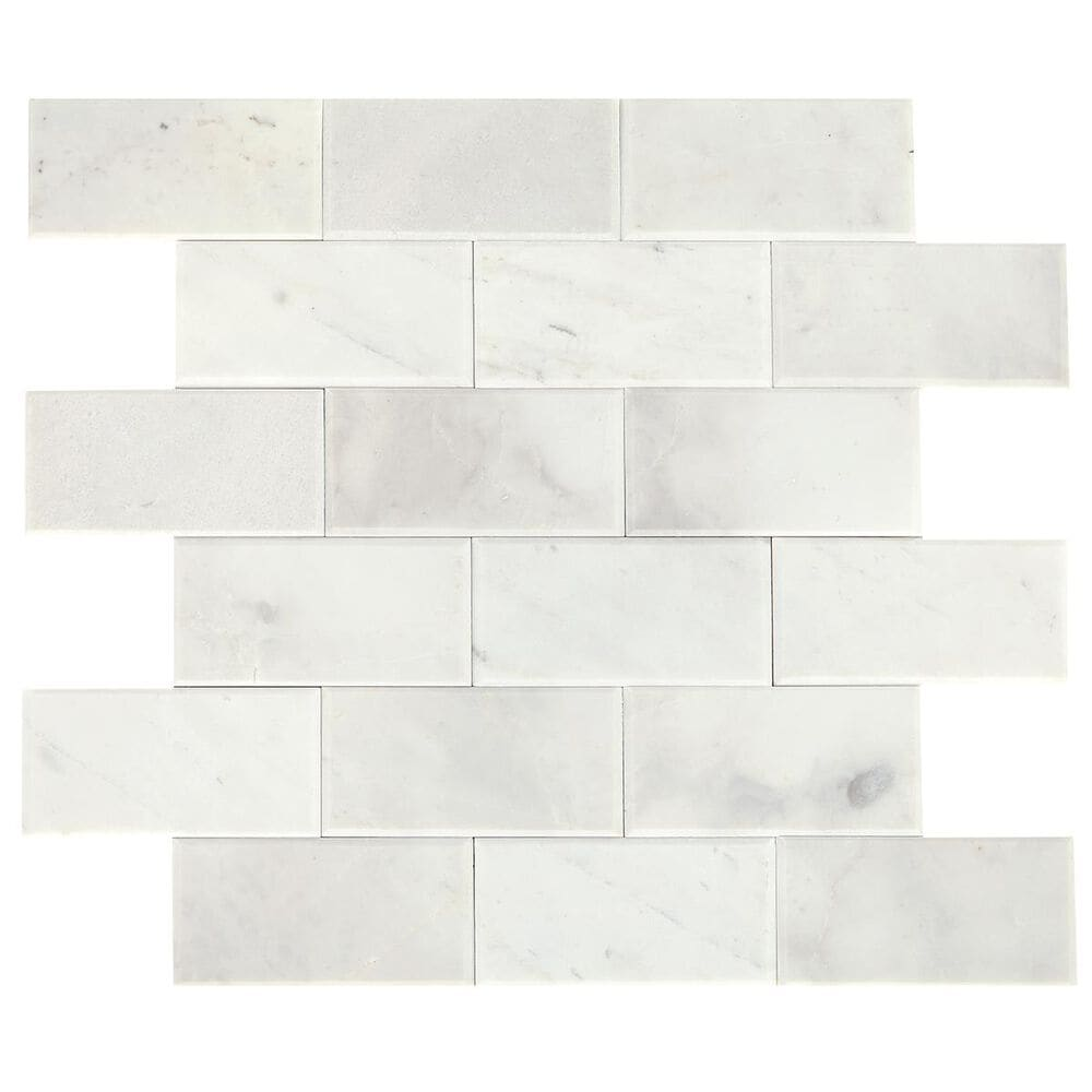 "Dal-Tile SimplyStick Stormy Mist 12""x12"" Bevel Mosaic Sheet, , large"