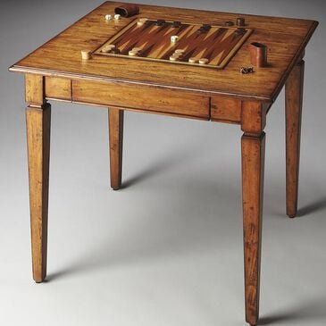 Butler Mountain Lodge Game Table, , large