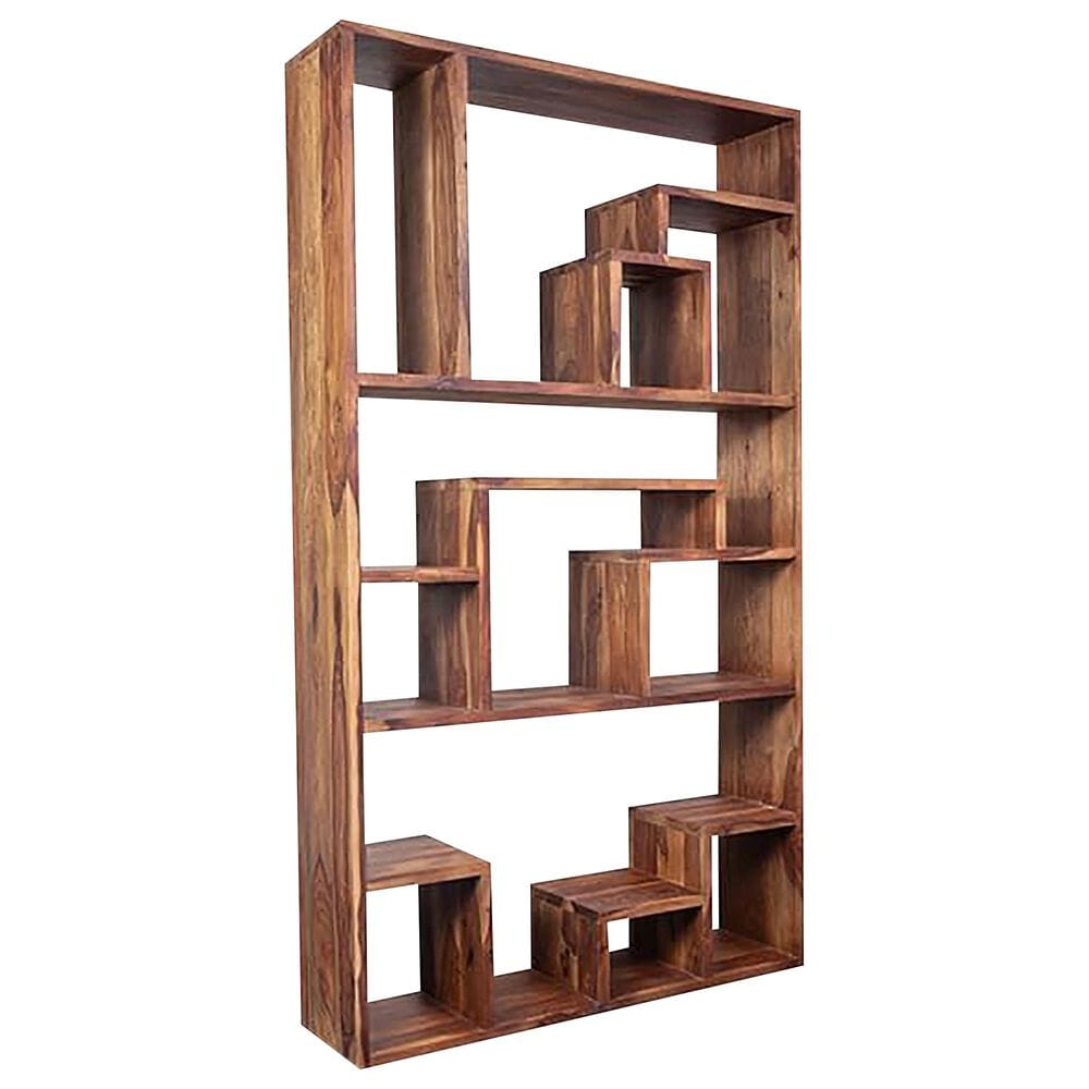37B Urban Large Bookcase in Natural, , large