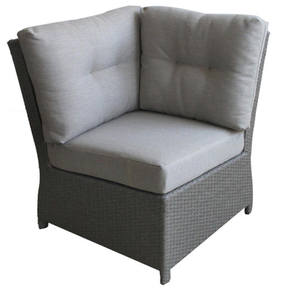 Firefly Banquette 4-Piece Sectional in Gray, , large