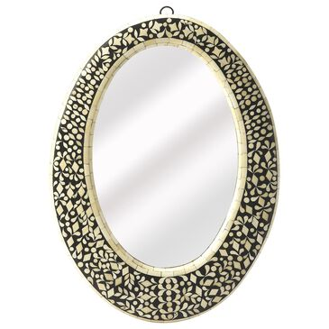 Butler Orzo Wall Mirror in Black, , large