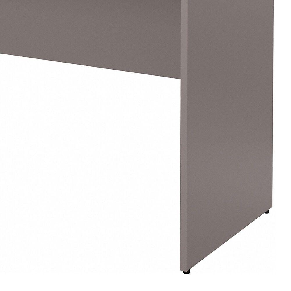 "Bush 60"" Credenza Desk in Cocoa/Pewter, , large"