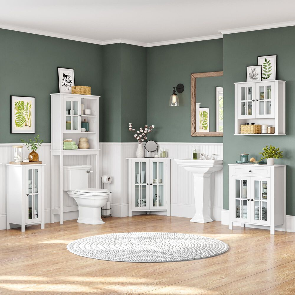 RiverRidge Home Danbury 2-Door Floor Cabinet in White, , large