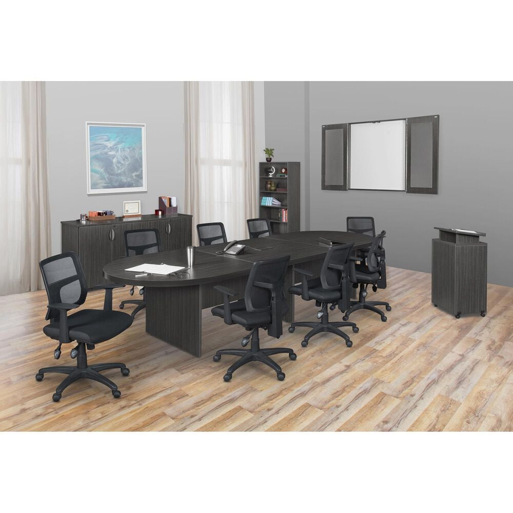 """Regency Global Sourcing Legacy 144"""" Modular Conference Table in Ash Grey, , large"""