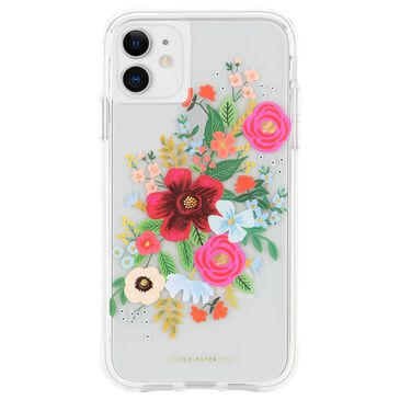 Case-Mate Rifle Paper Co - Ultra Slim Case For Apple Iphone 11 - Wild Rose, , large