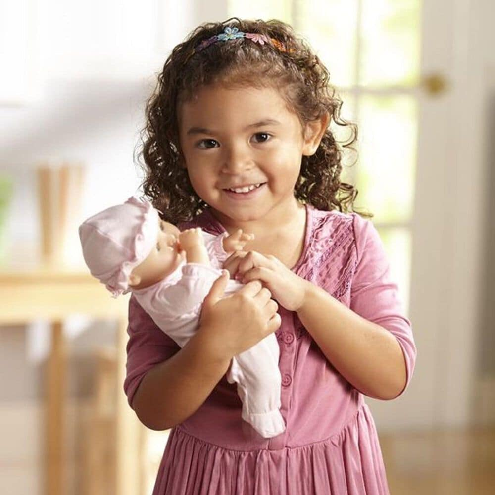"Melissa & Doug Mine to Love - 12"" Jenna Baby Doll, , large"
