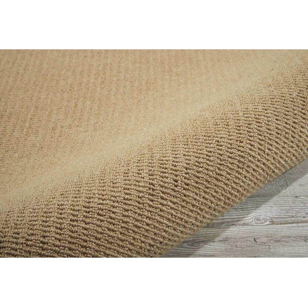 Nourison Sisal Soft SSF04 5' x 8' Sand Area Rug, , large