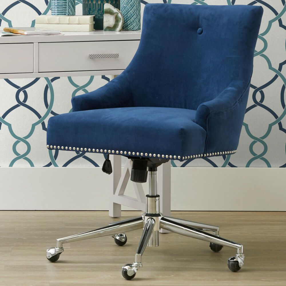 Accentric Approach Office Chair in Blue, , large