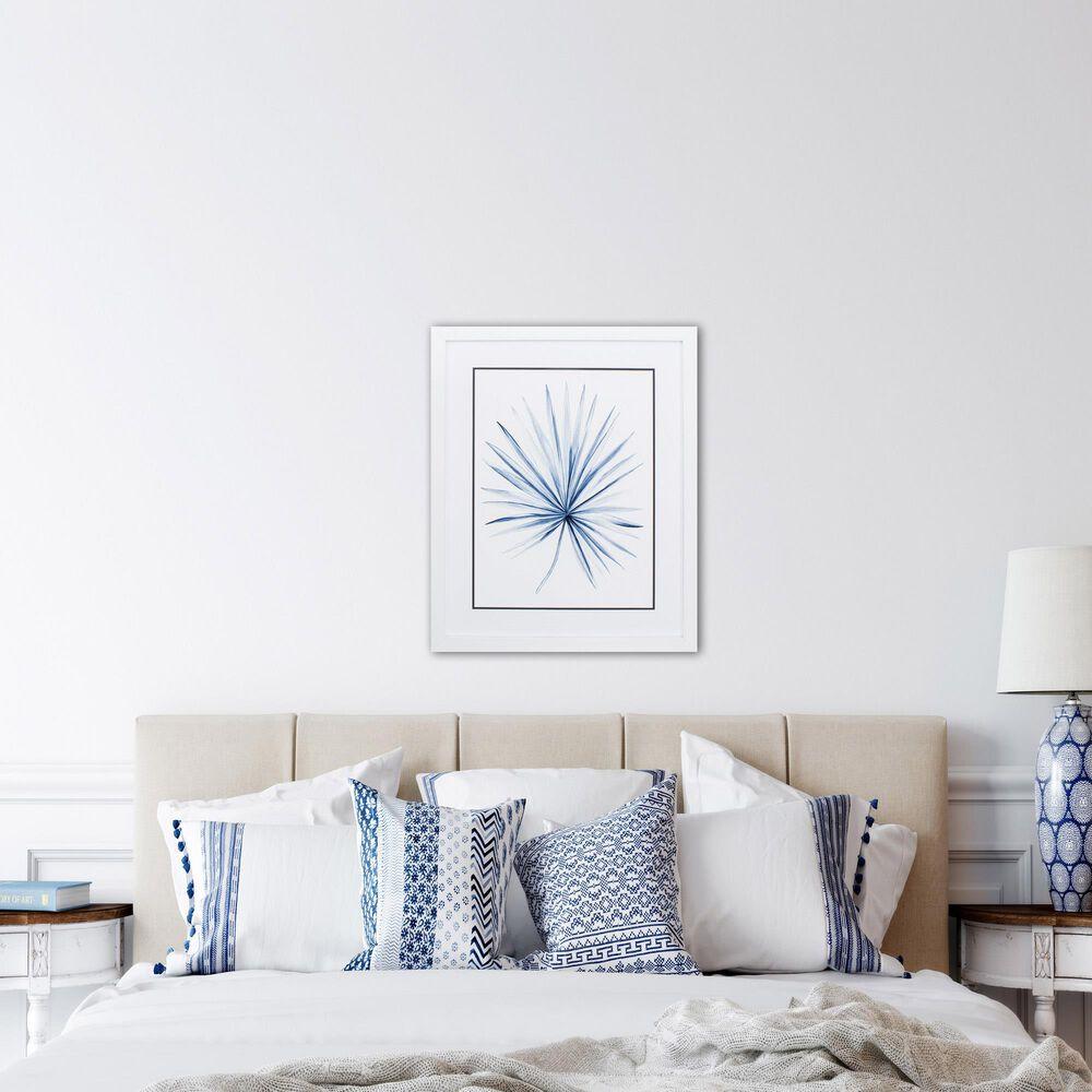 "Propac ""Indigo Tropical Leaf II"" Wall Art in Blue, , large"