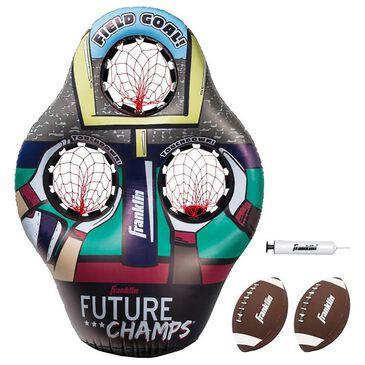 Franklin Sports Inflatable 3 Hole Football Target Set, , large